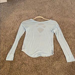 Girls Zella Light Blue Shirt ( Size 8/10)